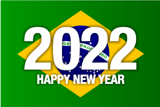 Happy New Year 2021 on Brazil