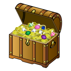 Opened Treasure Chest