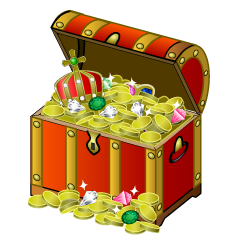Fulled King Treasure Chest