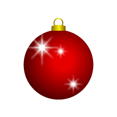 Glittering Christmas Ornament