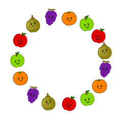 Fruits Wreath