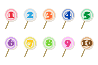 Candy Number Chart