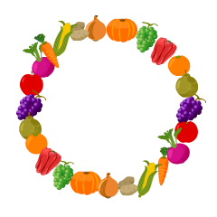 Vegetables Wreath