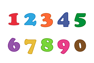 Cute Number Chart