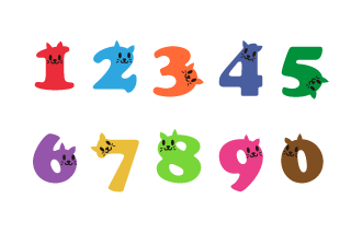 Cat Number Chart