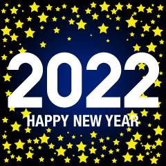 Stars Happy New Year 2021