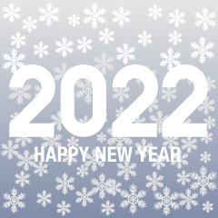 Snow Happy New Year 2021