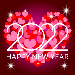 Heart Happy New Year 2021