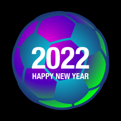 Soccer Happy New Year 2021