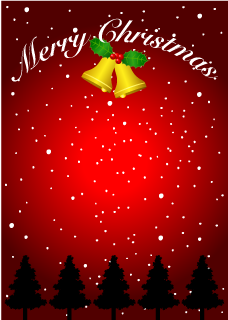 Christmas Bell Background
