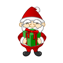 Mini Santa with Box