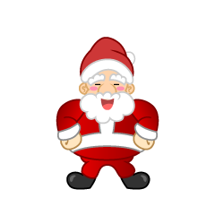 Laughing Santa Clipart
