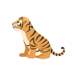 Child Tiger Side