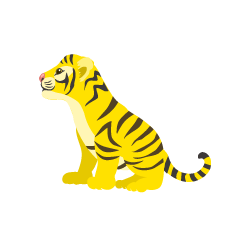Yellow Child Tiger