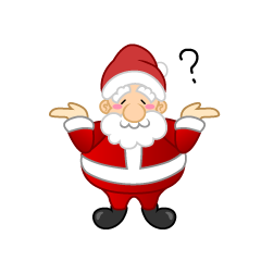 Unknown Santa Clipart
