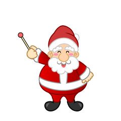 Santa to Explain Clipart