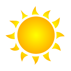 Burning Sun Clipart