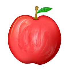 Delicious Red Apple Clipart