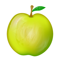 Delicious Green Apple Clipart