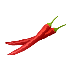 Red Pepper Clipart