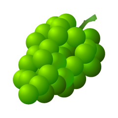 Green Grape Clipart