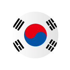 Korea Circle Flag